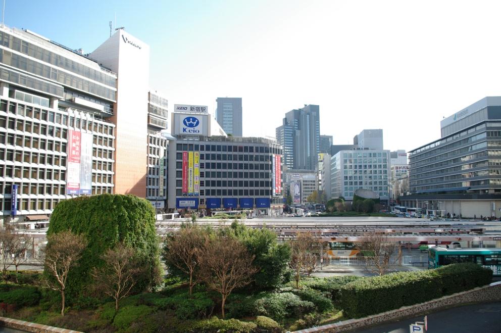 西新宿はしっとりとした大人の雰囲気