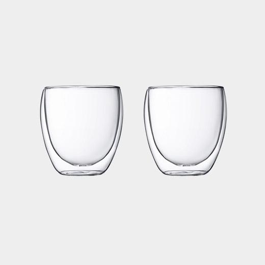 MoMA PAVINA ダブルウォールグラス 250ml (2個セット)