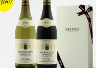 ENOTECA フランス・ブルゴーニュ産紅白ワイン ギフトセットの詳細へ