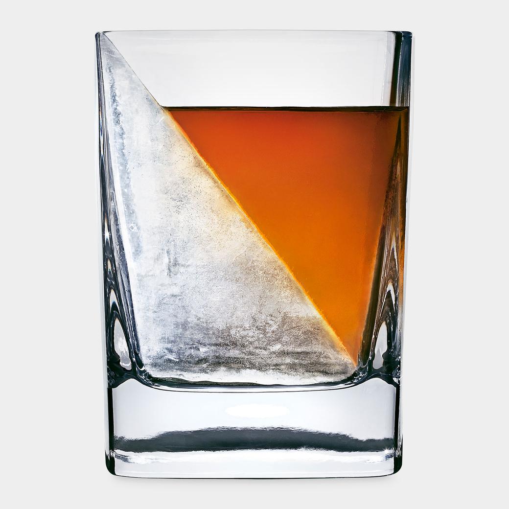 MoMA ウィスキーウェッジ グラス