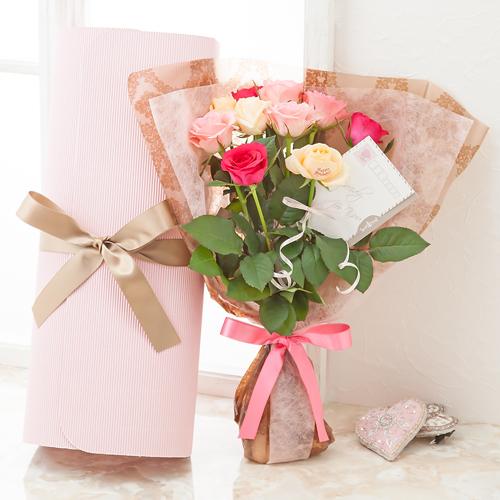 """レター・ローズ""""Peach and Pink MIX"""" ~バラに気持ちを託して~"""