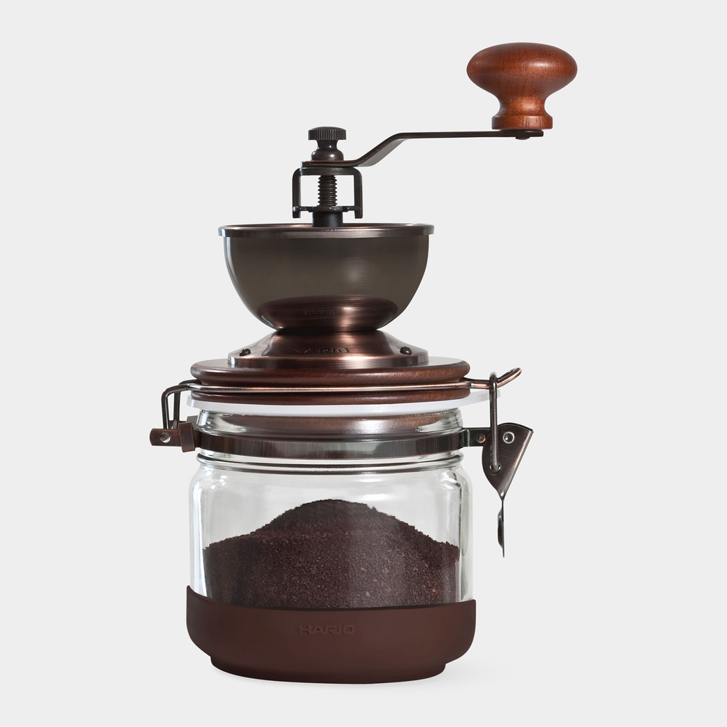 ガラス コーヒー グラインダー