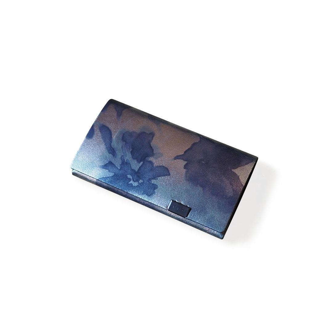 オリガミ カードケース フローラル/ネイビー