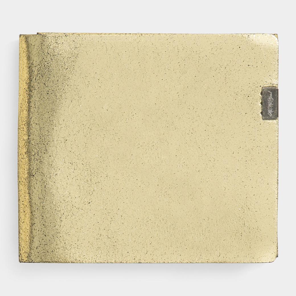 MoMA オリガミ ウォレット ゴールド/ブラック