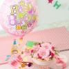アレンジメント「ぷわぷわバルーン~Happy Birthday&フラワーケーキ~」