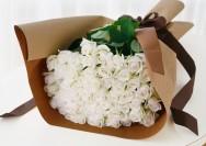 【イイハナ・ドットコム】~花言葉『心からの尊敬』『純潔』~白バラのフラワーギフトの詳細へ