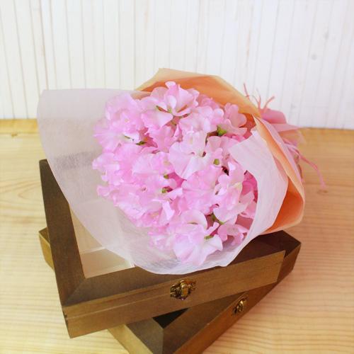 花束「スプリング スイトピーブーケM」
